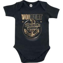 Body niemowlęce: Volbeat Anchor Body czarny