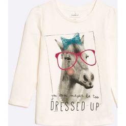 Bluzki dziewczęce bawełniane: Name it - Bluzka dziecięca Dikarla 92-128 cm