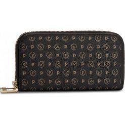 Duży Portfel Damski POLLINI - TE9002PP02Q1100A  Nero. Czarne portfele damskie Pollini, ze skóry ekologicznej. W wyprzedaży za 409,00 zł.