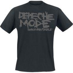 Depeche Mode People Are People T-Shirt czarny. Czarne t-shirty męskie Depeche Mode, s. Za 74,90 zł.