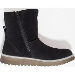 Superfit LORA Śniegowce schwarz. Czarne buty zimowe damskie Superfit, z materiału. W wyprzedaży za 259,35 zł.