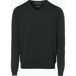 Finshley & Harding - Sweter męski, zielony. Czarne swetry klasyczne męskie marki Finshley & Harding, w kratkę. Za 129,95 zł.