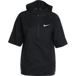 Nike Performance FLEX RUNNING HOODED JACKET Kurtka do biegania black/reflective silver. Czarne kurtki sportowe damskie Nike Performance, xl, z materiału, do biegania. W wyprzedaży za 276,75 zł.