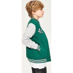 Odzież dziecięca: Bluza bejsbolówka - Khaki