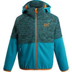 Regatta HYDRONIC UKUT Kurtka z polaru aqua/enamel. Niebieskie kurtki chłopięce marki Regatta, z elastanu. W wyprzedaży za 127,20 zł.