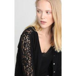 Rosemunde VENISE Bluza rozpinana black. Czarne bluzy rozpinane damskie Rosemunde, xl, z bawełny. Za 579,00 zł.