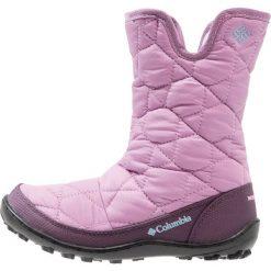 Columbia MINX SLIP OMNIHEAT WATERPROOF GT Śniegowce violet haze/oxygen. Fioletowe buty zimowe damskie marki Columbia, z gumy. W wyprzedaży za 180,95 zł.