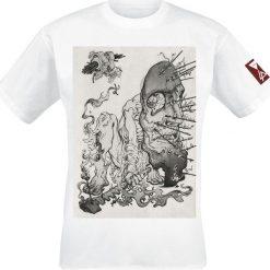 T-shirty męskie: Linkin Park Arrow Mask T-Shirt biały