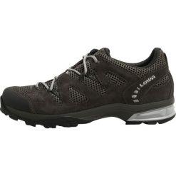 Lowa PHOENIX Obuwie hikingowe dunkelgrau/grau. Szare buty sportowe męskie Lowa, z materiału, outdoorowe. W wyprzedaży za 509,15 zł.