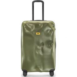 Walizka Icon duża matowa oliwkowa. Szare walizki marki Crash Baggage, z materiału. Za 1120,00 zł.