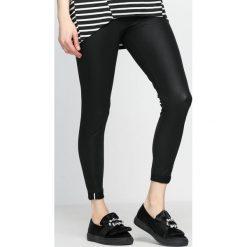 Spodnie damskie: Czarne Legginsy Yours Truly