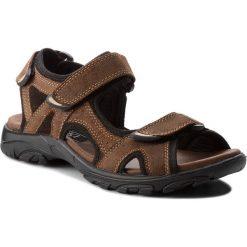Sandały męskie skórzane: Sandały LASOCKI FOR MEN – MI20-MATEO-02 Brązowy 1