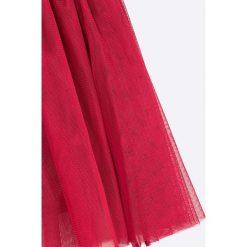 Blukids - Spódnica dziecięca 98-128 cm. Różowe spódniczki dziewczęce marki Mayoral, z bawełny, z okrągłym kołnierzem. W wyprzedaży za 39,90 zł.