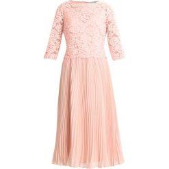 Sukienki hiszpanki: Oasis ELLIE 3/4 SLEEVE PLEATED MIDI DRESS Sukienka koktajlowa pale pink