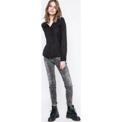 Vero Moda - Bluzka. Szare bluzki z odkrytymi ramionami marki Vero Moda, m, z materiału, z krótkim rękawem. W wyprzedaży za 59,90 zł.
