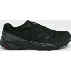 Salomon - Buty. Czarne buty trekkingowe męskie Salomon, z gore-texu, na sznurówki, outdoorowe, gore-tex. W wyprzedaży za 479,90 zł.