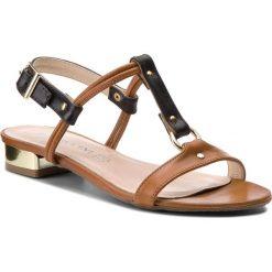 Sandały damskie: Sandały BALDACCINI - 540500 Brąz Da Vinci/Czarny