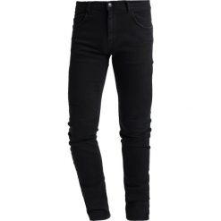 Sisley Jeansy Slim Fit black. Czarne jeansy męskie Sisley. W wyprzedaży za 279,30 zł.