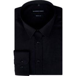 Koszula KDCR000322 SIMONE. Białe koszule męskie na spinki marki bonprix, z klasycznym kołnierzykiem. Za 169,00 zł.
