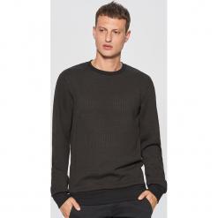Teksturowana bluza - Czarny. Czarne bluzy męskie marki Cropp, l. Za 99,99 zł.