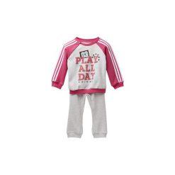 Spodnie dresowe dziewczęce: Zestawy dresowe adidas  Dres z materiału frotté Graphic