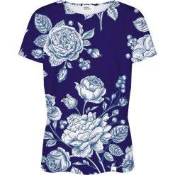 Colour Pleasure Koszulka damska CP-030 200 granatowa r. XL/XXL. Niebieskie bluzki damskie marki Colour pleasure, xl. Za 70,35 zł.