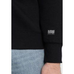 GStar RODIS BLOCK HDD SW L/S Bluza z kapturem dark black. Czarne bluzy męskie rozpinane G-Star, l, z bawełny, z kapturem. Za 369,00 zł.