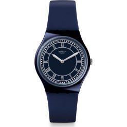 ZEGAREK SWATCH GENT. Czarne zegarki męskie Swatch, sztuczne. Za 235,00 zł.