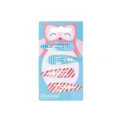 Donegal SPINKA do włosów Pin-Up (FA-5555) 5cm  1 op.-4szt. Szare ozdoby do włosów marki Donegal. Za 4,65 zł.