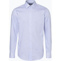 BOSS - Koszula męska – Jenno, niebieski. Czarne koszule męskie slim marki Boss, m. Za 429,95 zł.