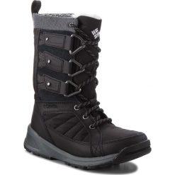 Śniegowce COLUMBIA - Meadows Shorty Omni-Heat 3D BL5967 Black/Steam 010. Czarne buty zimowe damskie Columbia, z materiału. W wyprzedaży za 429,00 zł.