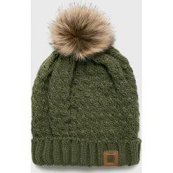 Roxy - Czapka. Szare czapki zimowe damskie Roxy, na zimę, z dzianiny. W wyprzedaży za 99,90 zł.