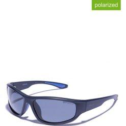 Okulary przeciwsłoneczne męskie lustrzane: Okulary męskie w kolorze granatowym