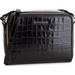 Torebka COCCINELLE - DV3 Mini Bag E5 DV3 55 H7 09 Noir 001. Czarne listonoszki damskie marki Coccinelle, ze skóry. Za 1249,90 zł.