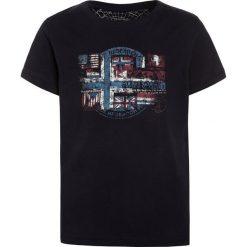 Napapijri SEY  Tshirt z nadrukiem blu marine. Szare t-shirty chłopięce z nadrukiem marki Napapijri, l, z materiału, z kapturem. Za 169,00 zł.