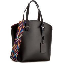 Torebka CREOLE - K10360  Czarny. Czarne torebki klasyczne damskie Creole, ze skóry, duże. W wyprzedaży za 219,00 zł.