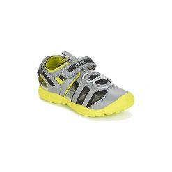 Sandały sportowe Dziecko  Geox  J GLEEFUL B. A. Szare buty sportowe chłopięce marki Geox. Za 167,30 zł.