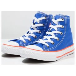 Converse CHUCK TAYLOR ALL STAR Tenisówki i Trampki wysokie hyper royal/bright poppy/white. Niebieskie trampki chłopięce marki Converse, z materiału. Za 189,00 zł.