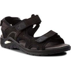 Sandały męskie skórzane: Sandały LOWA – Urbano 410370  Black 9999