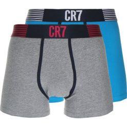 Bokserki męskie: Cristiano Ronaldo CR7 TRUNK 2 PACK Panty turquoise/mottled grey