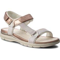 Sandały GEOX - J Sand. Sukie G. D J720VD 05422 C0674 D Biały/Róż. Białe sandały dziewczęce Geox, z materiału. Za 289,00 zł.