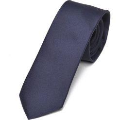 KRAWAT MĘSKI GŁADKI. Szare krawaty męskie Top Secret, klasyczne. Za 24,99 zł.