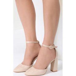 Beżowe Sandały Gimme Love. Brązowe sandały damskie vices, na wysokim obcasie. Za 89,99 zł.