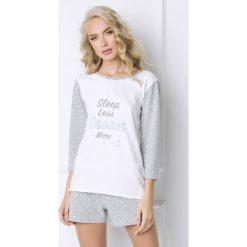Piżamy damskie: Damska piżama Dreamy - krótka