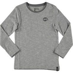 Koszulka w kolorze szaro-białym. Białe t-shirty chłopięce z długim rękawem Dare 2b Kids, z bawełny. W wyprzedaży za 27,95 zł.