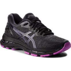 Buty ASICS - Gel-Nimbus 20 Lite-Show 1012A037 Black/Black 001. Czarne buty do biegania damskie marki Asics, z materiału. W wyprzedaży za 559,00 zł.