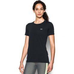 Topy sportowe damskie: Under Armour Koszulka damska HG SS czarna r. XL (285637-001)