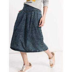 Spódniczki: Dżinsowa spódnica w kolorze niebiesko-szarym