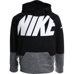 Nike Performance HOODIE Bluza z kapturem black/carbon heather. Czarne bluzy chłopięce rozpinane marki Nike Performance, z materiału, z kapturem. Za 199,00 zł.