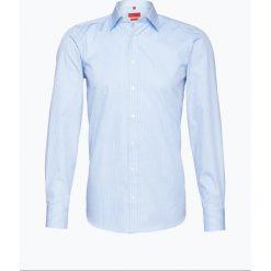 Finshley & Harding - Koszula męska, niebieski. Niebieskie koszule męskie w kratę marki Finshley & Harding, m, z bawełny. Za 129,95 zł.